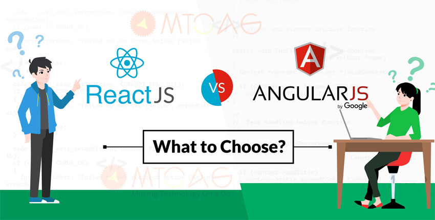 ReactJS vs Angular -The Best Ideal Length for the Next Project
