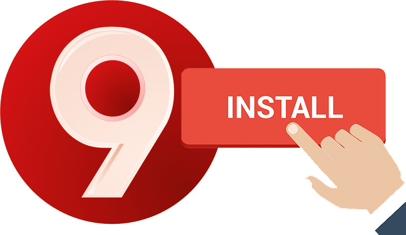 Install 9Apps for Blackberry