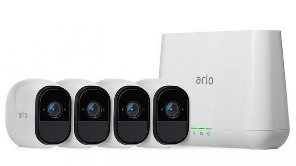 Arlo pro-security cameras by Netgear provide full protection for your home